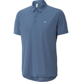 Ziener Canot Polo Shirt Herre antique blue